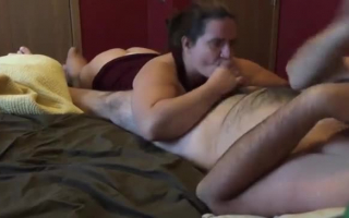Tiefer Sex gefilmt