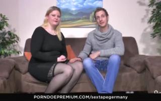 Handjob Deutschland - Gangbang in HD