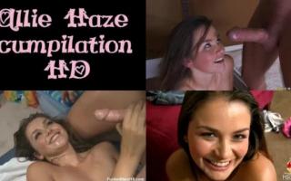Allie Haze bearbeitet Danny Mountain vor den Augen ihres Schlubs - Teenager Porno