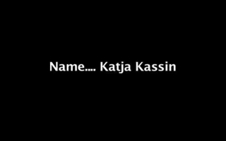 Katja Kassin von ihrem Freund gefickt