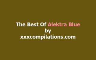 Alektra getret sich mit einem schwarzen Penis