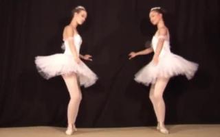 Der dicke Ballerina geht Fetisch im Bett ab