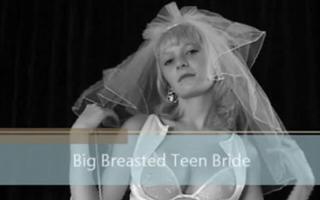 Braut mit dicken übergefühlten Titten