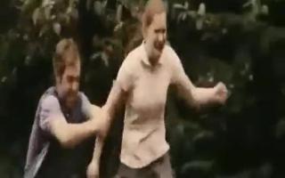 Eine Szene eines Pornos