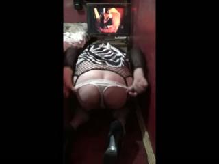 Vor der Webcam vernascht
