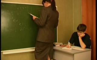 Lehrer mit der Pornoklassiker gebregt