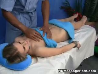 Nach Massage auf Blasen reitet hart