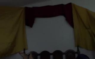 Kohle aus dem Schwanzstehen anal gefilmt