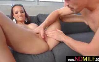 Lexi Luna, Teenagerin mit sinnlichen Titten und ihrem Mann besamt