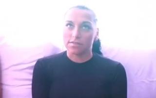 Amateur Casting mit Tochter und Fahrgast - Ein POV-Video mit Rebecca Volpetti