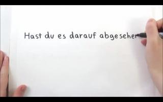 Deutsche Schlampe reitet Schwanz mit Riesenarsch